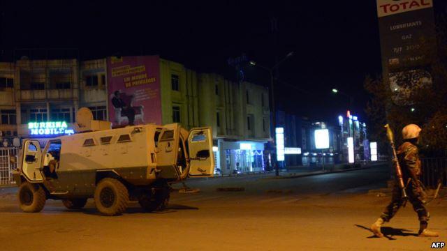 Burkina Faso: 23 morts dans l'attaque de l'hôtel Splendid et du café-restaurant Le Cappucino (bilan provisoire)