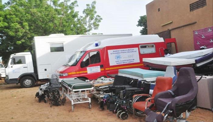 Fatick : la mairie réceptionne du matériel médical d'une valeur de plus de 2 milliards de francs