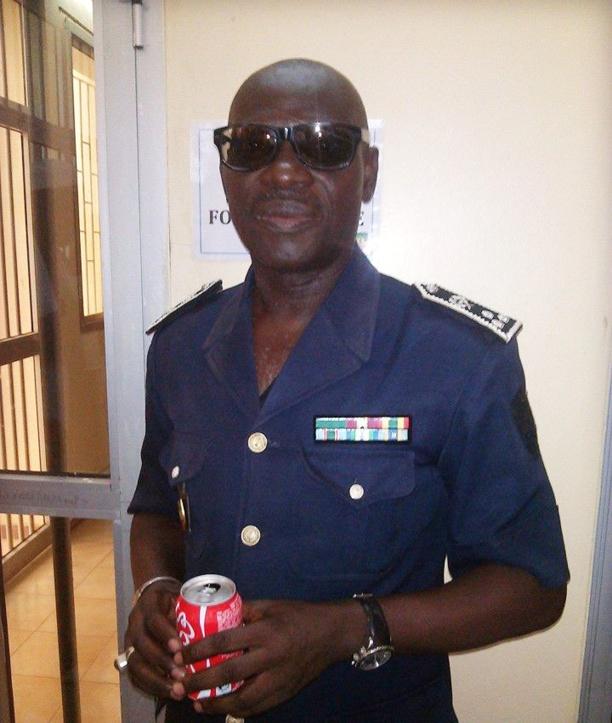 La police rend hommage au commissaire Alioune Mamadou Diène