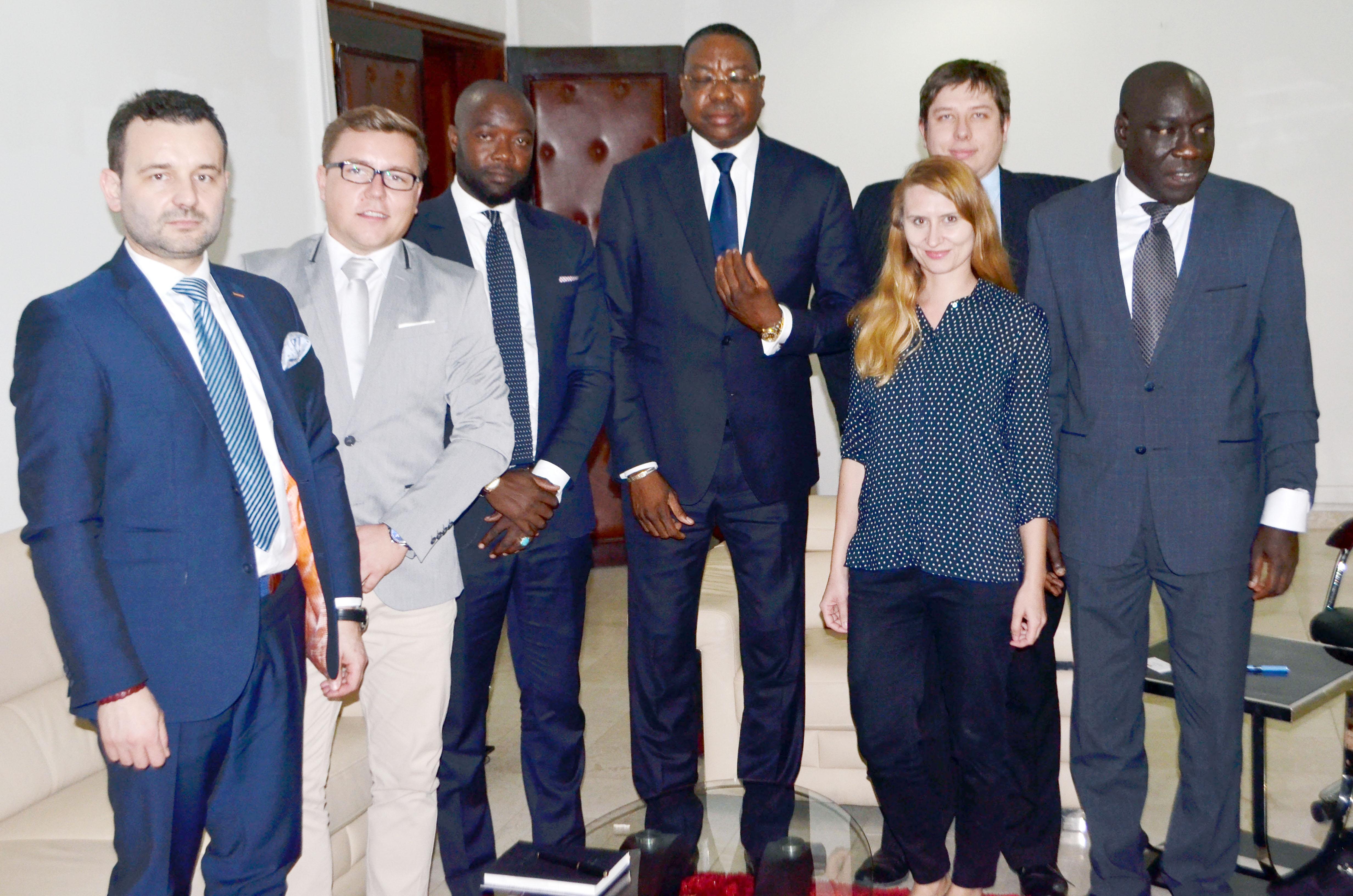 Diplomatie économique: Mankeur Ndiaye reçoit le groupe polonais MENICA