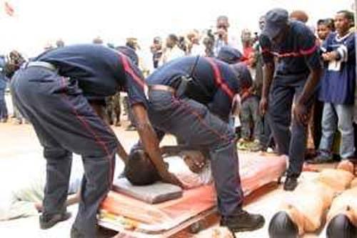 Noyade à Cap Skirring : Le corps d'un jeune sapeur-pompier repêché