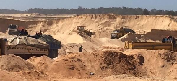 Conseil des ministres: Macky Sall exige la fin de l'extraction à grande échelle du sable marin