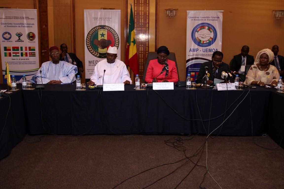 ABC à la tête  de l'Association des médiateurs des pays membres de Uemoa (Amp-Uemoa).