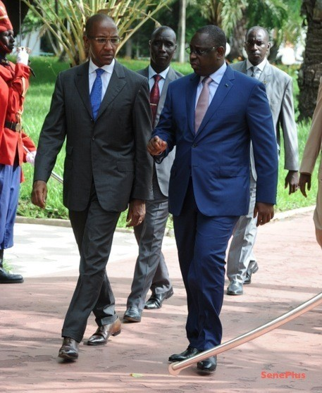 Palais présidentiel : Abdoul Mbaye reçu par le Président Macky Sall