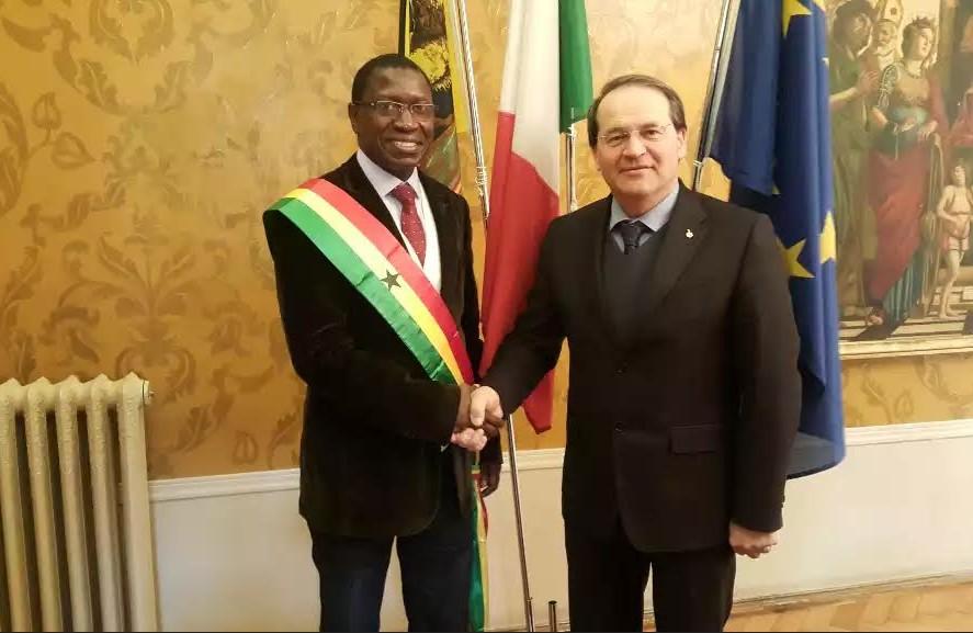 Mamina Kamara plaide pour la Casamance à la conférence de Deltamed en Italie.