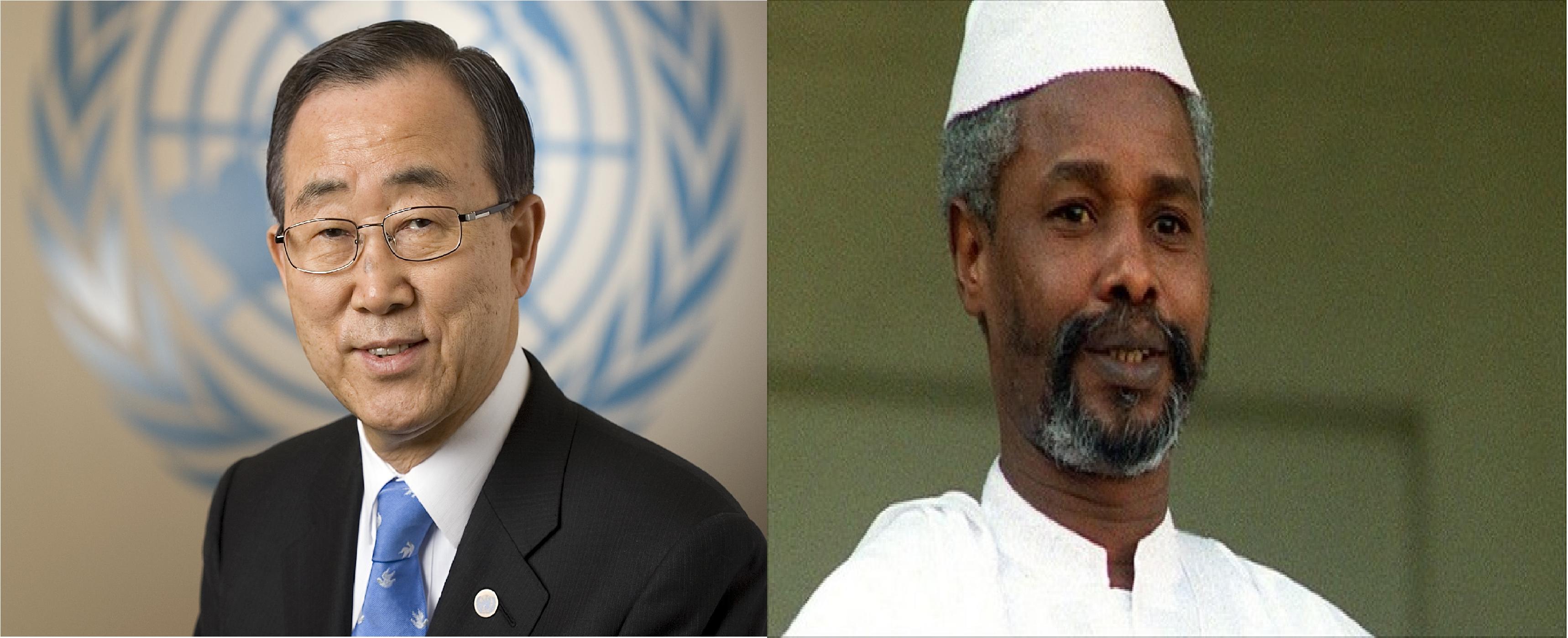Ban Ki-moon : le procès de Hissène Habré est un « point de repère pour la justice africaine »