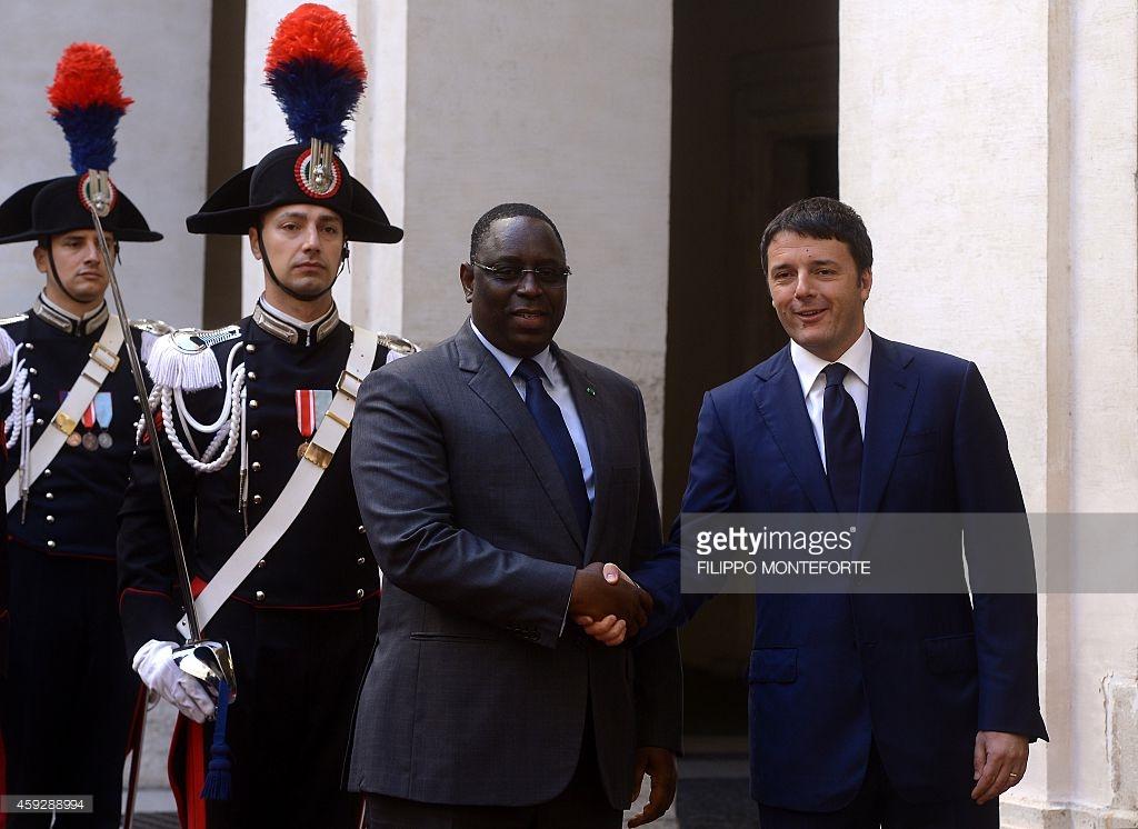 Visite du Premier ministre italien à Dakar:   L'agriculture au menu de la rencontre entre Matteo Renzi et Macky Sall