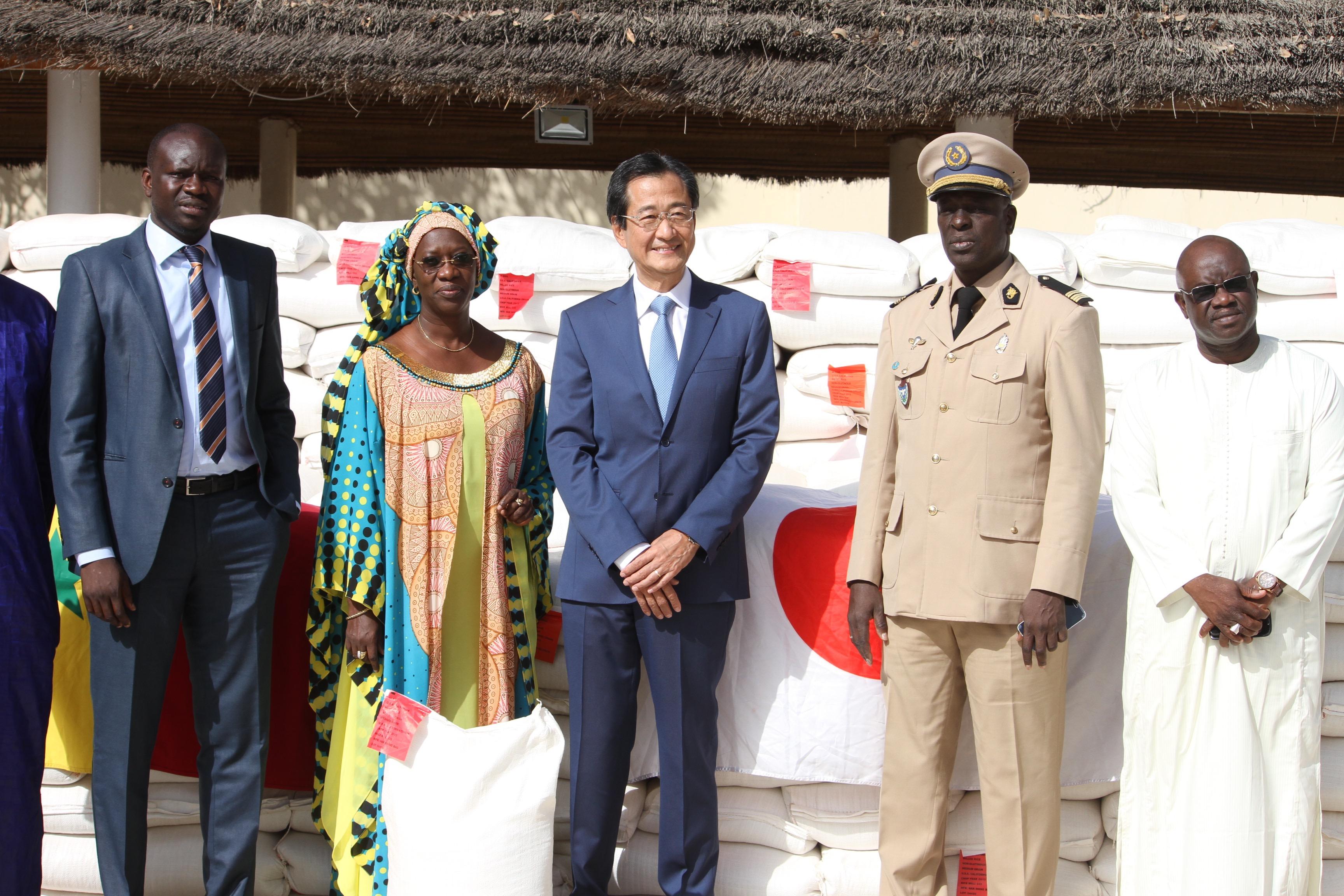 Sécurité alimentaire : Le Japon dote le Sénégal de 8700 tonnes de riz
