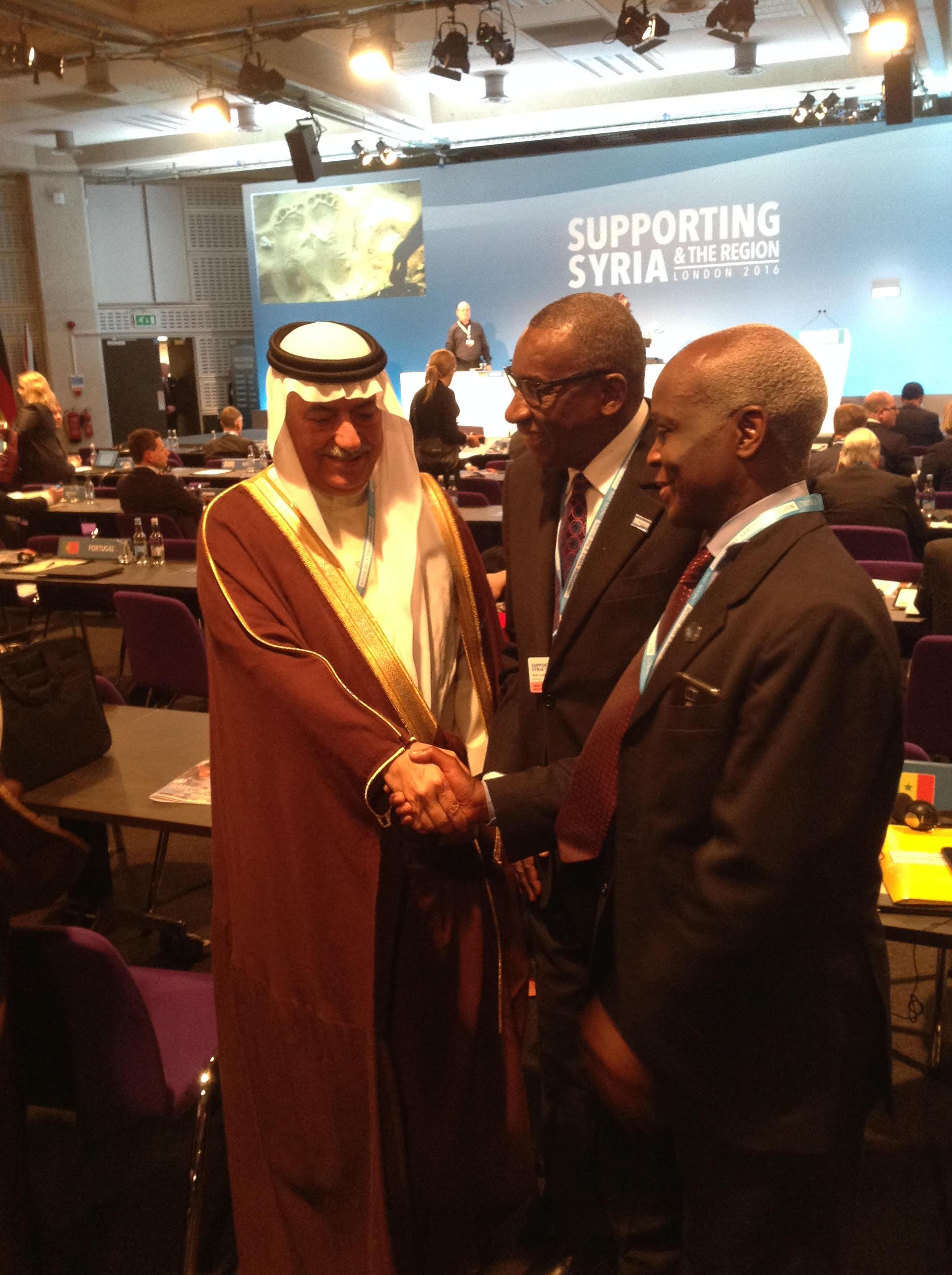 Le ministre de la Justice aux pourparlers sur la Syrie à Genève: Le Sénégal plaide pour une paix reconstructive