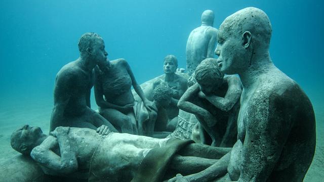 Un véritable musée sous l'eau va bientôt voir le jour dans les îles Canaries. Découvrez les premières images à couper le souffle