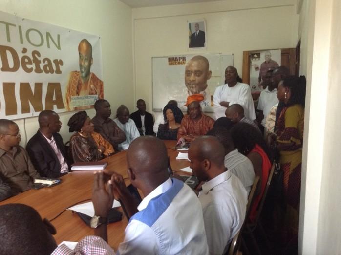 Apr Médina: Après une longue séparation, Sidy Same et Mamadou Bâ fument le calumet de la paix