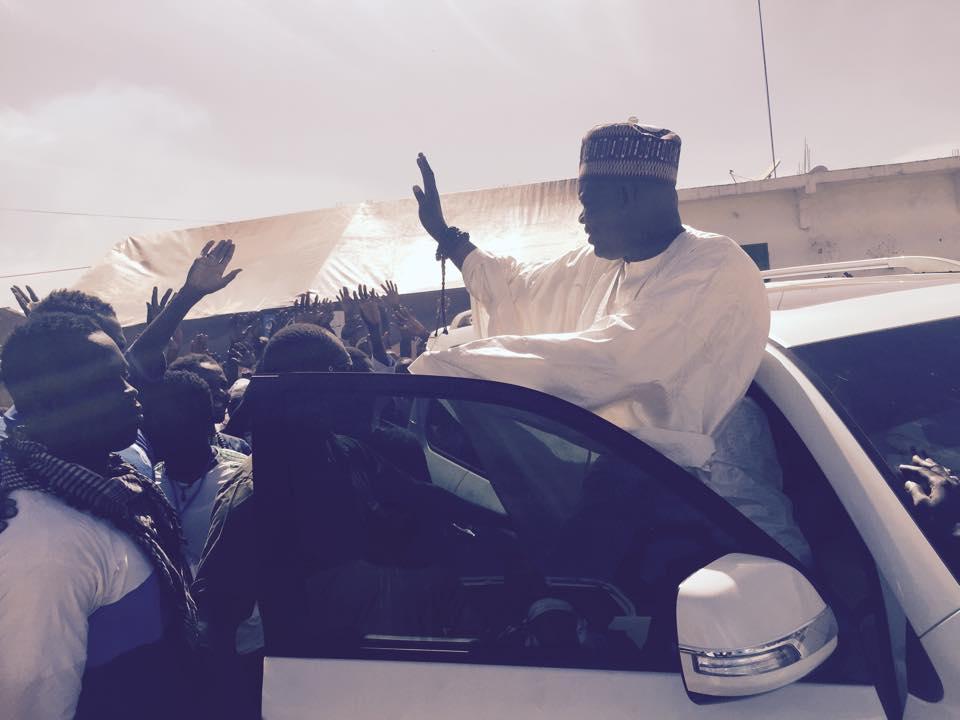 Saloum: Serigne Mountakha Niass démarre sa campagne pour réélire Macky Sall