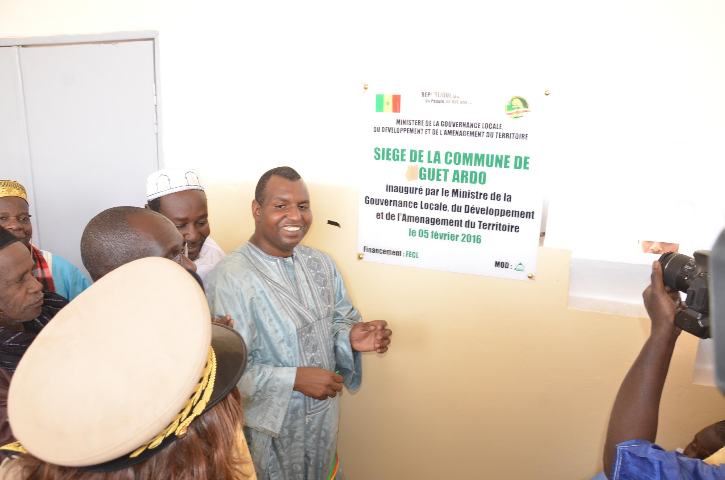 Développement local: La commune de Guet Ardo étrenne son nouvel hôtel de ville