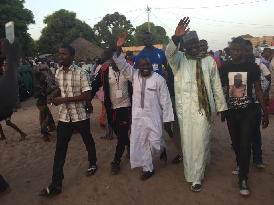 Tournée politique : Abdoulaye Mountakha Niass mobilise le Saloum