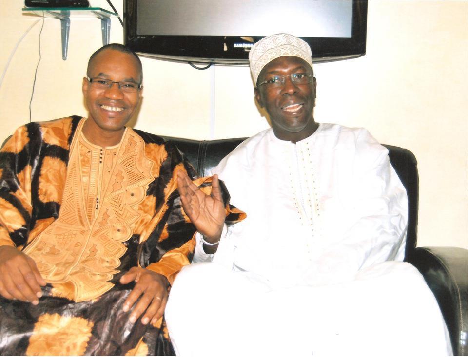 Souleymane Ndéné Ndiaye en toute complicité avec Mamoudou Ibra Kane