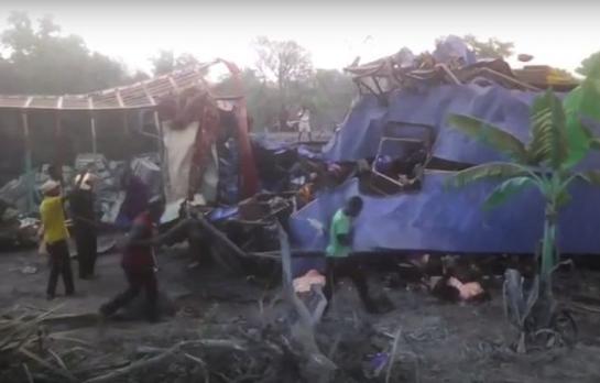 Ghana : au moins 53 morts dans une collision entre un bus et un camion