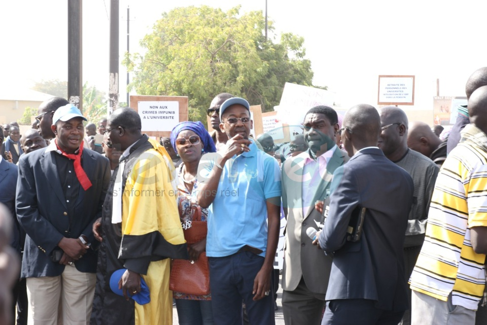 Marche des enseignants du Saes : Seydi Ababacar Ndiaye victime d'un malaise