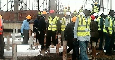 Effondrement de poutres de fer à Diamniadio: Plus de 20 blessés graves