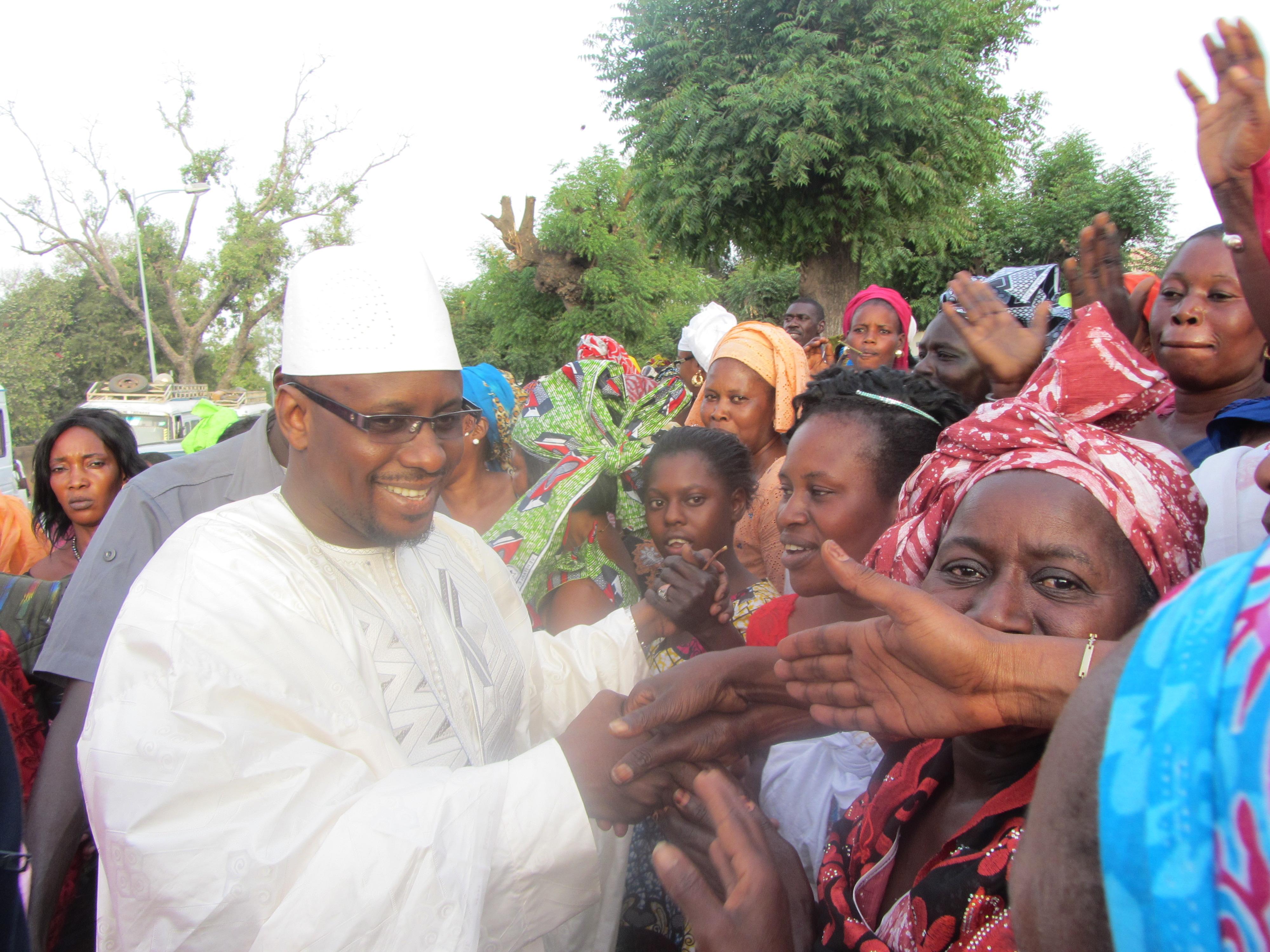 """Photos - Moustapha Diop mobilise les femmes de Thiès : """"C'est l'occasion pour vous d'enterrer politiquement Idrissa Seck"""""""