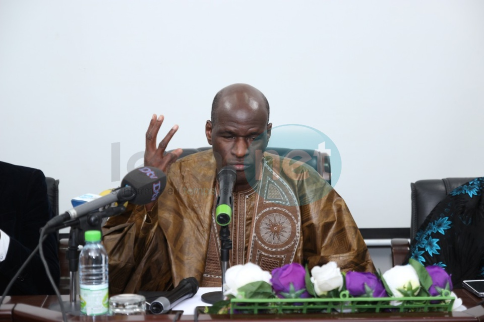 Photos et vidéo - Alliance pour la paix et le développement : (APD) : Thierno Lô a obtenu son récépissé