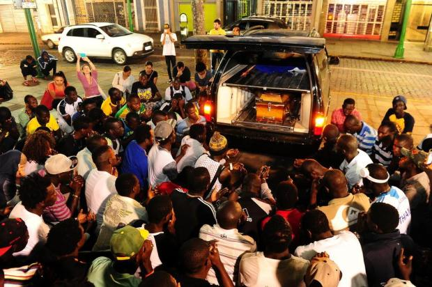 Brésil: Des sénégalais protestent contre l'insécurité à Caxias après le meurtre du jeune Cheikh Tidiane