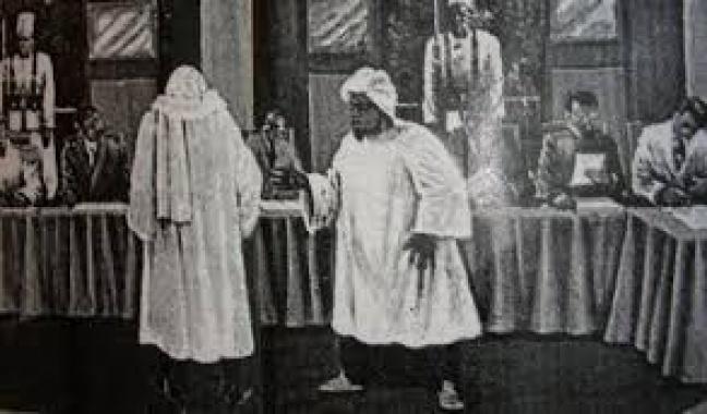 Nétali : Convocation de Cheikh Ahmadou Bamba par le Gouverneur Merlin à Dakar