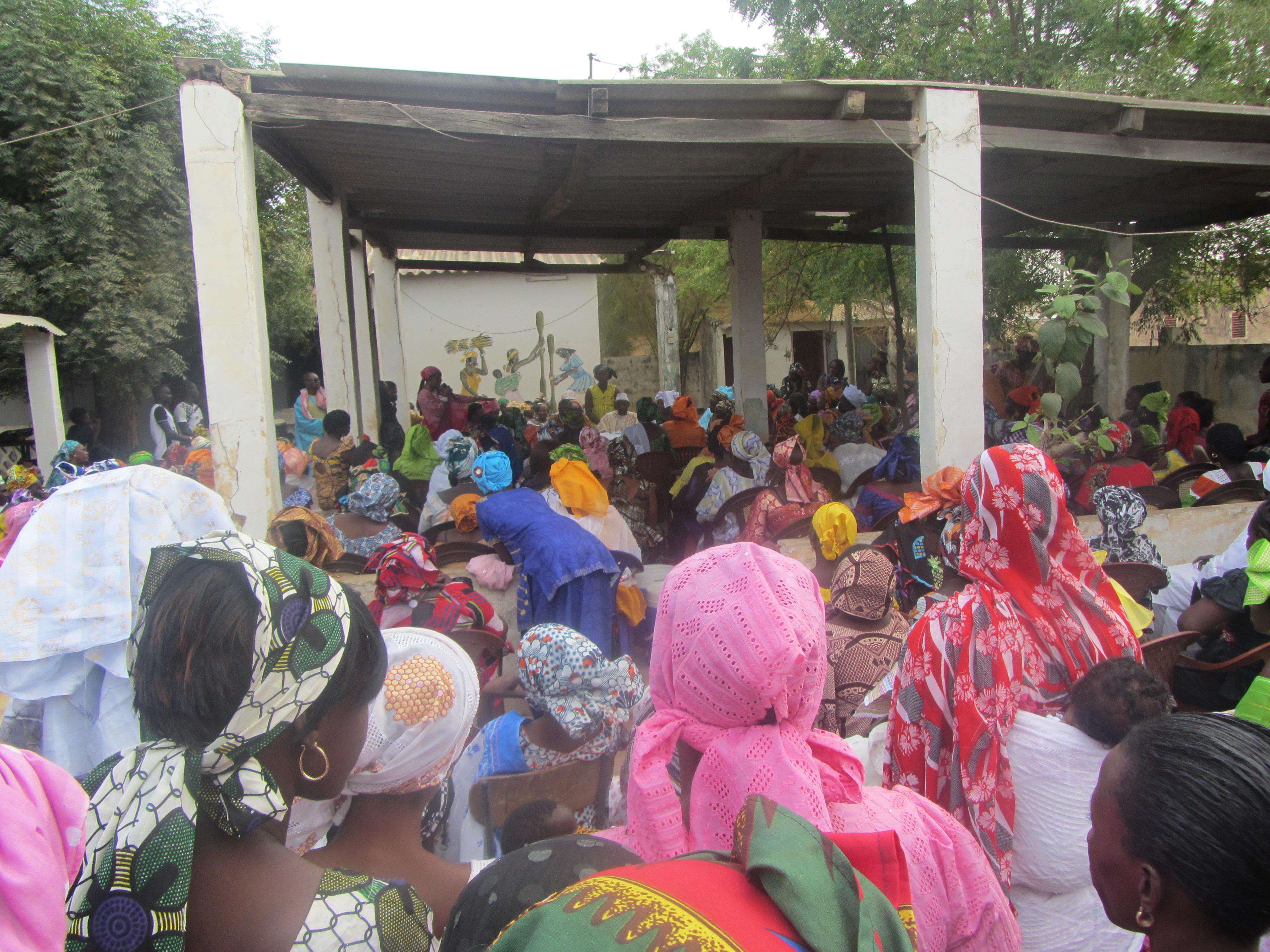 Rassemblement du 12 mars : Les femmes de Koungheul promettent une grande mobilisation à Macky Sall