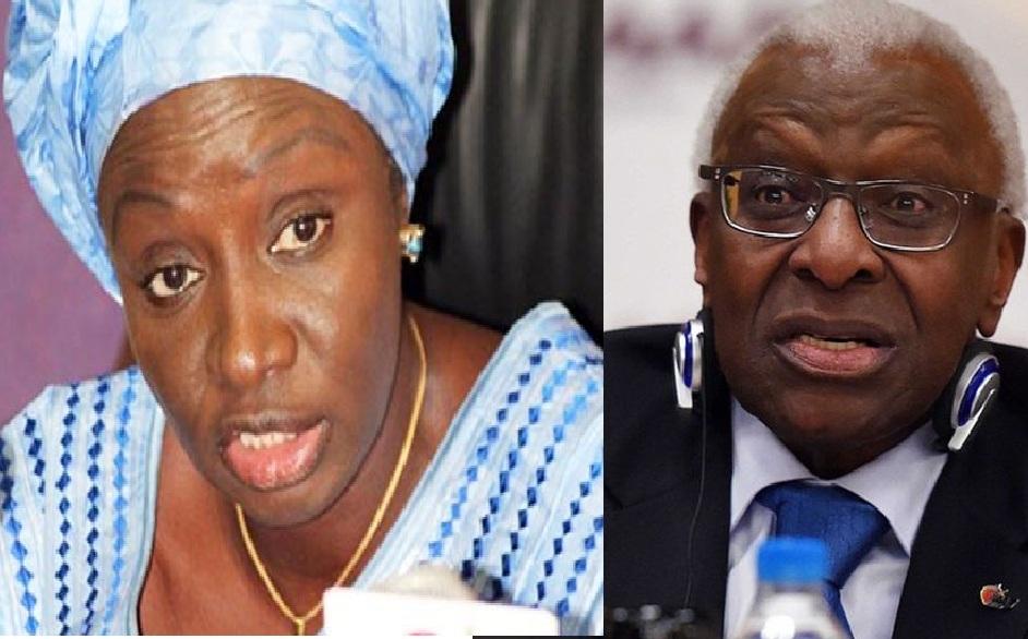 Diffamation:  Lamine Diack charge Mimi Touré et la menace d'une plainte