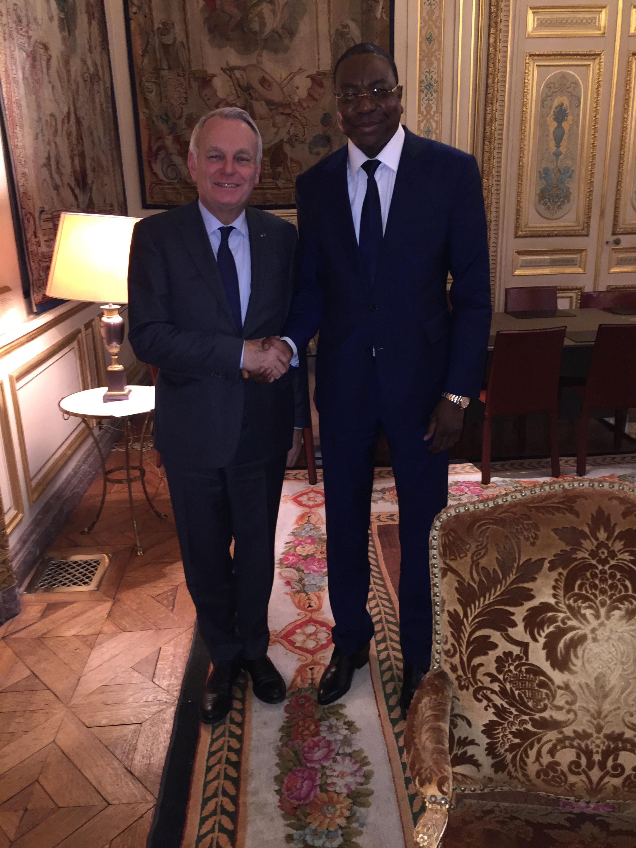 Quai d'Orsay : Mankeur Ndiaye reçu par le nouveau ministre français des Affaires étrangères