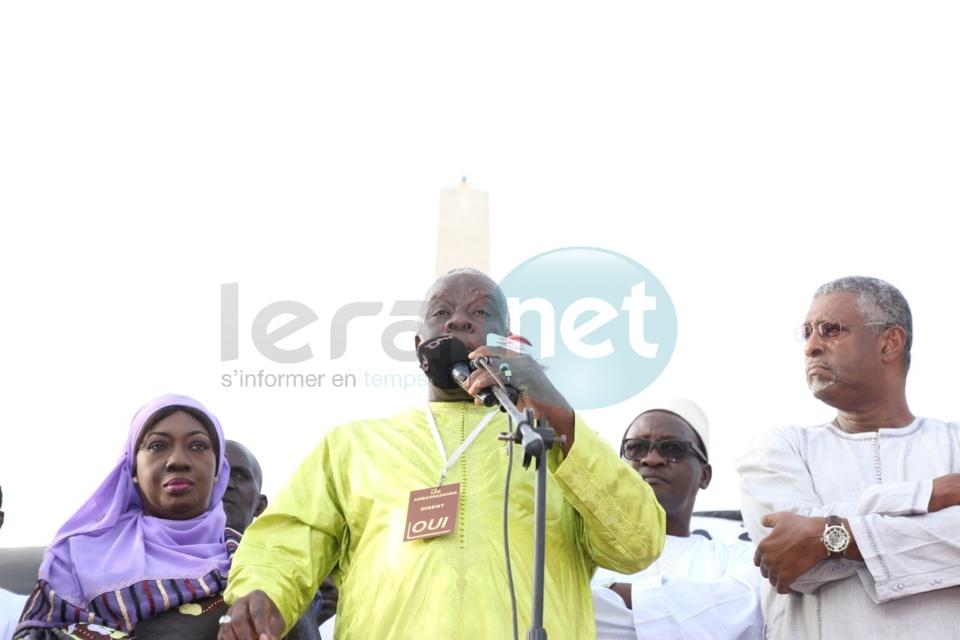 """Vidéo - Référendum du 20 mars : Demba Diop lance les """"Ambassadeurs du Oui"""""""
