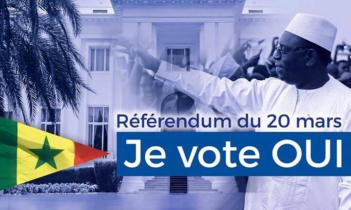 Message du President Macky Sall sur sa page facebook