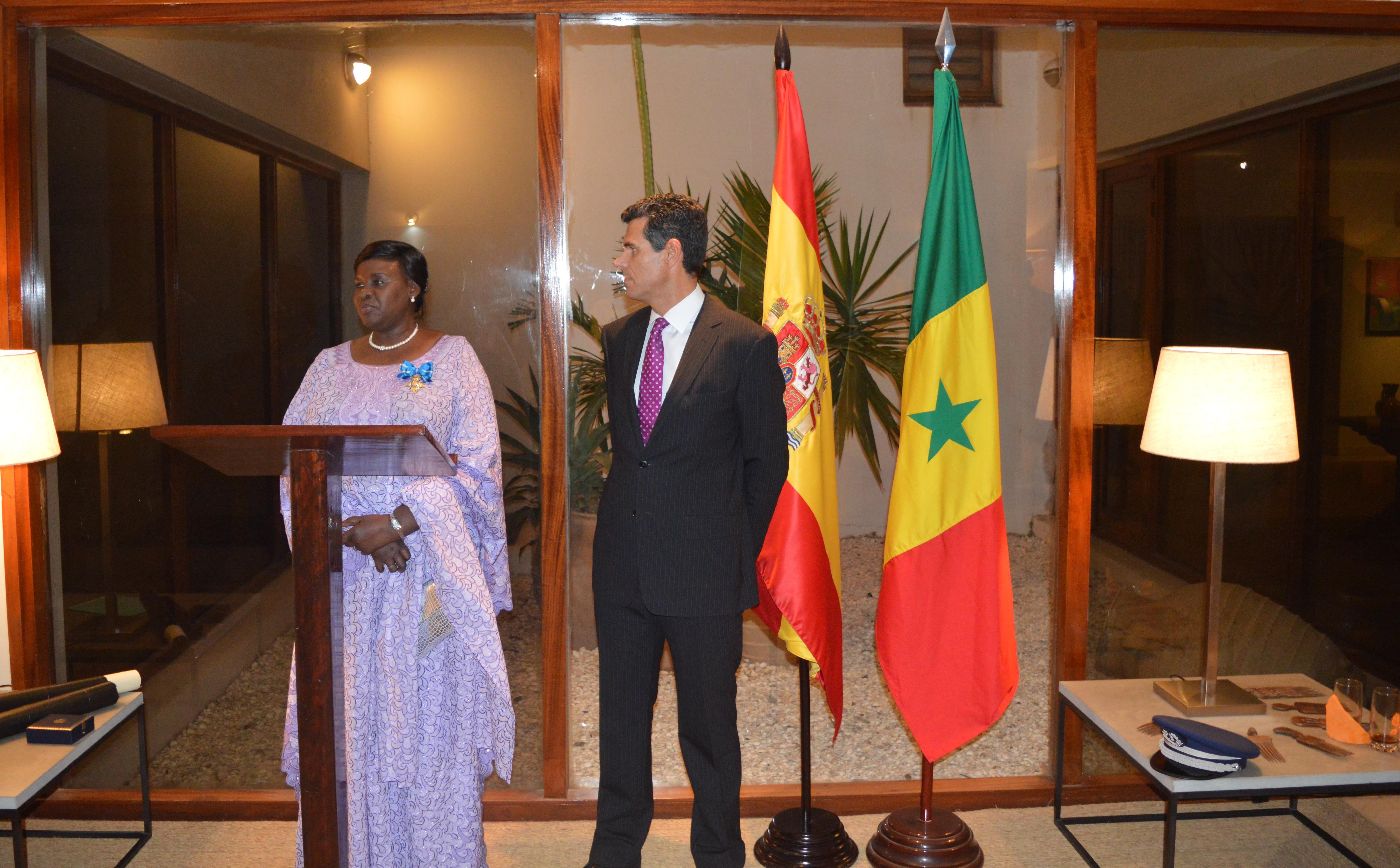 Reconnaissance: Anna Sémou Faye élévée au rang de Commandeur par le Roi d'Espagne