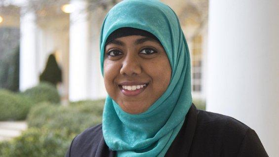 Rumana Ahmed, une conseillère voilée à la Maison Blanche