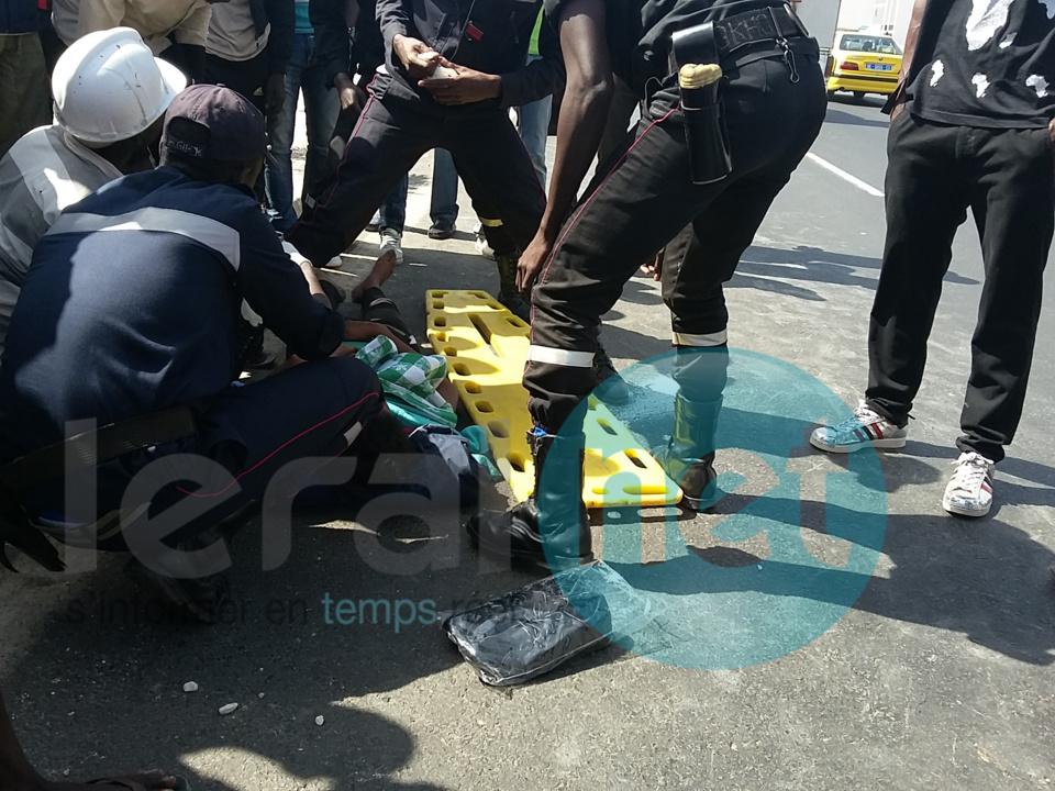 Photos - Spectaculaire accident sur la Vdn : Une jeune femme propulsée dans les airs par un taxi