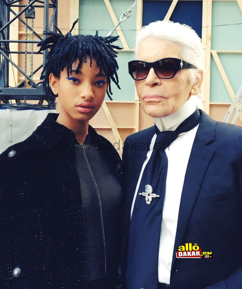 Karl Lagerfeld choisit Willow Smith comme nouvelle égérie Chanel