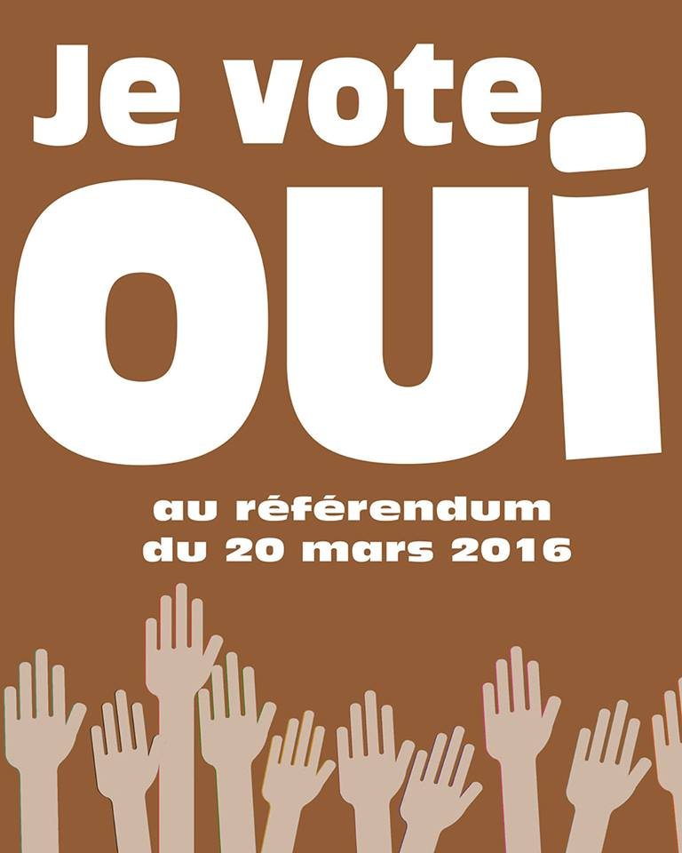 Campagne d'Affichage du Référendum - L'Agence Emedia de El Malick Seck sort du lot.
