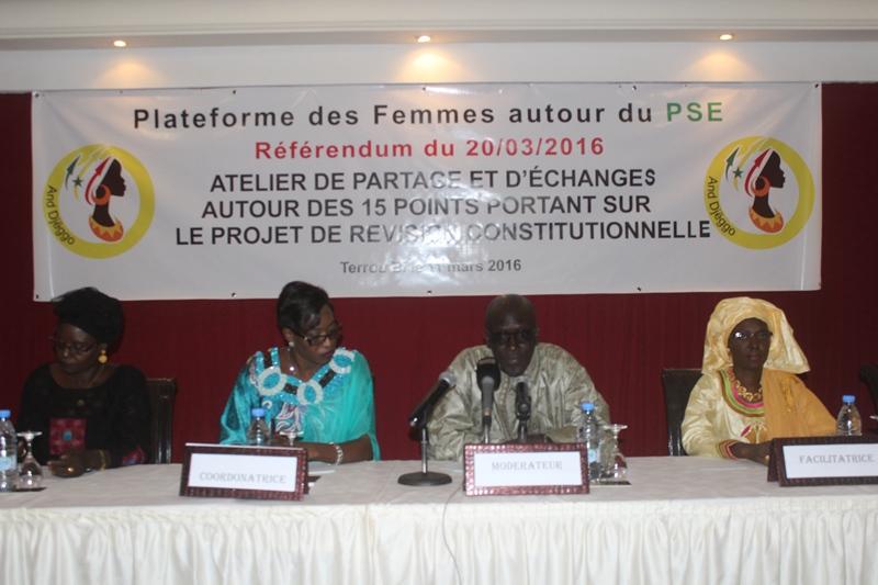 Mme Faye Maïmouna Diop : « Nous voulons qu'avant d'aller à ce référendum savoir ce qu'il recouvre ».