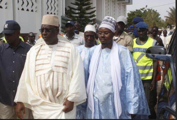 Mbacké Kadior : Macky  Sall reçu le Khalife général des Mourides