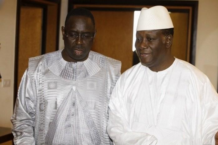 """Côte d'Ivoire : Macky Sall condamne """"l'attaque criminelle terroriste"""" à Grand-Bassam et exprime sa solidarité à Ouattara"""