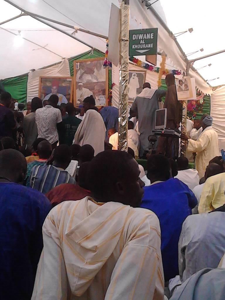 La journée culturelle de Serigne SAM Mbaye à l'occasion de son anniversaire à Keur Massar