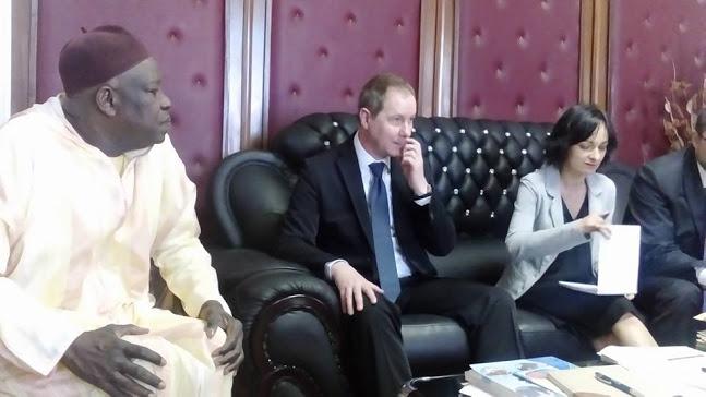 Les députés Mansour Sy Djamil Et Cheikhou Oumar Sy accueillent une délégation parlementaire de la République Tchèque
