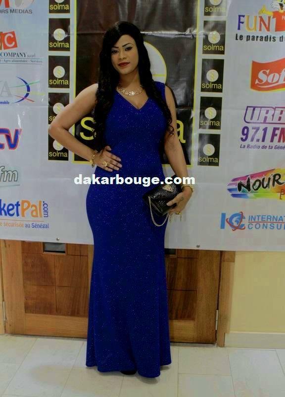 Fanta Samira Coulibaly sublime lors du défilé 'Solma show'