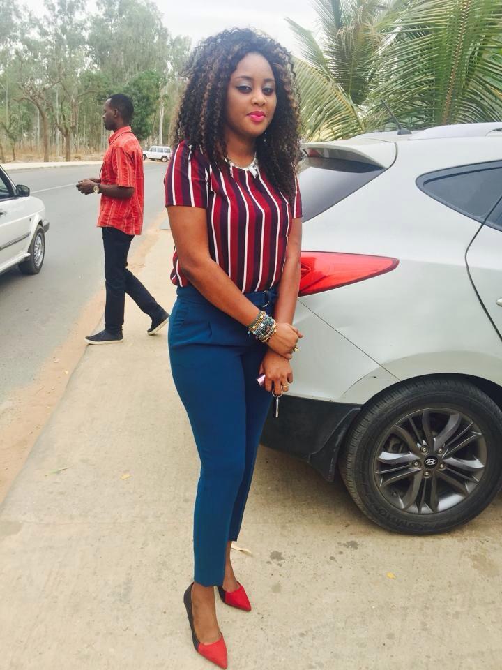 La belle Fatima Diack de la Sen Tv