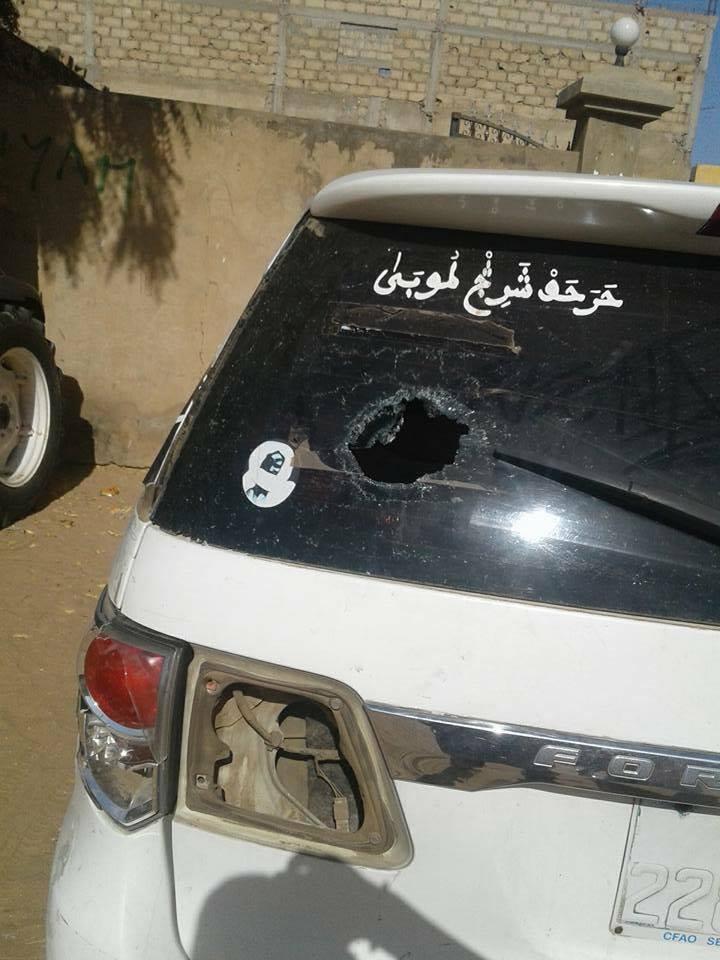 Touba: Sa voiture caillassée, Cissé Lô dégaine et tire