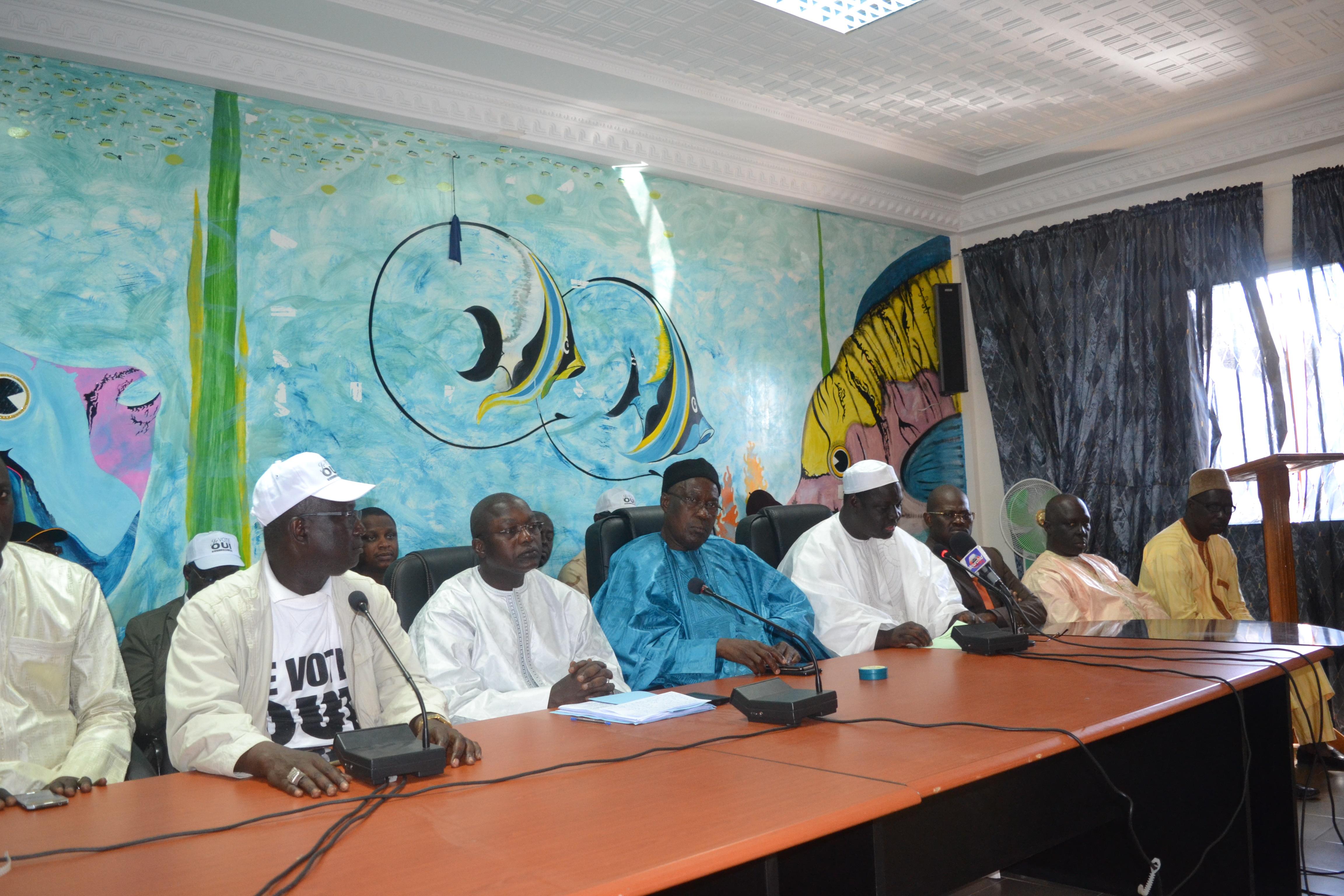 Référendum : Les imams de Rufisque ont dit Oui à Oumar Guèye