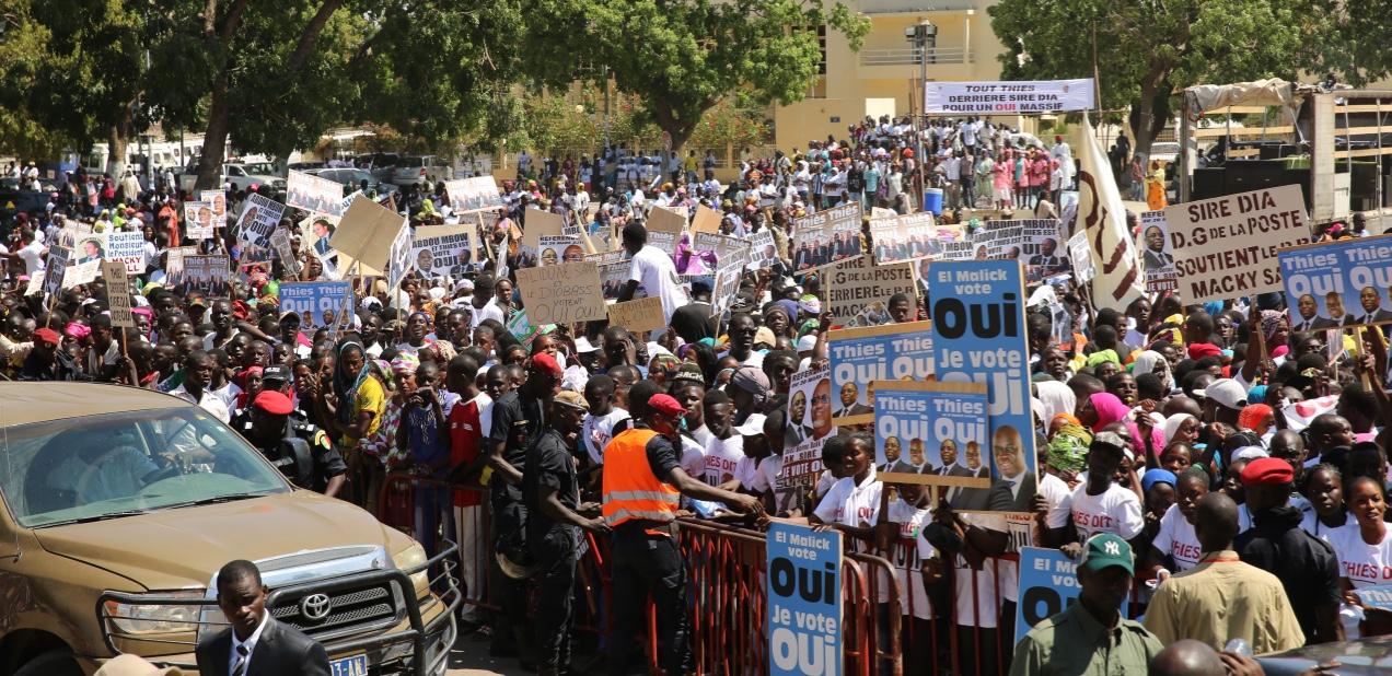 Campagne référendaire : Macky défie Idrissa Seck à Thiès