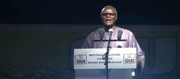 Vidéo-Ousmane T. Dieng: « nous avons les populations avec nous, nous avons le bilan… »