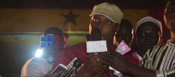 Vidéo-Barthélémy Dias: « Macky Sall vous avait promis 500.000 emplois, Wax Waxët… »