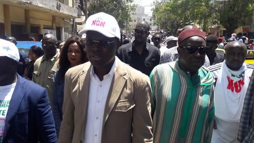 """Khalifa Sall à ses militants : """"Consommons le riz, encaissons l'argent et allons voter Non"""""""