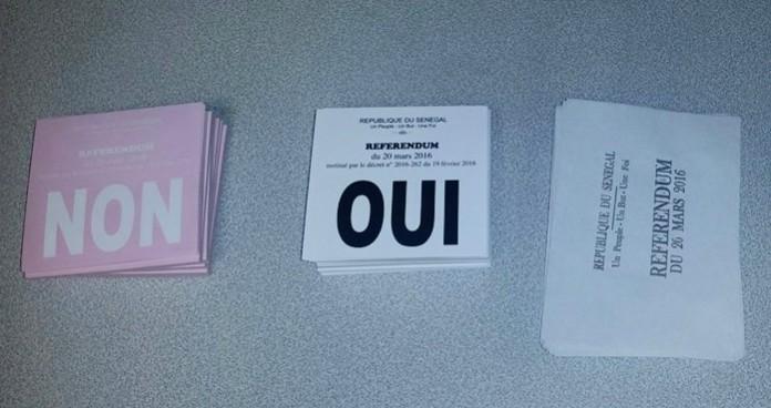 Référendum : Voici les résultats provisoires ….